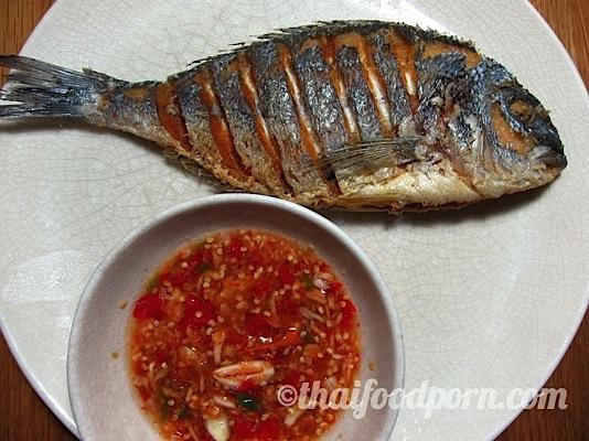 Thai Style Fried Fish – ปลาทอด