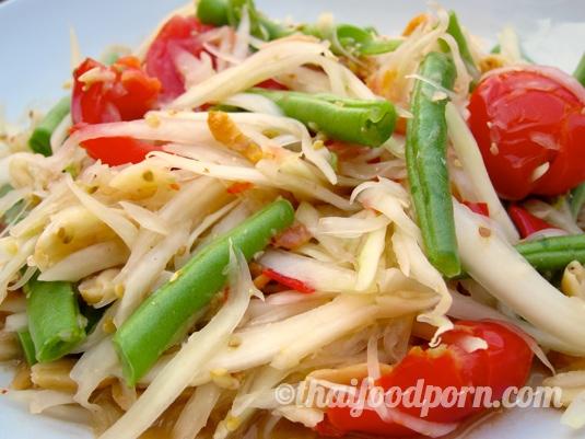 Green Papaya Salad – Som Tam – ส้มตำไทย