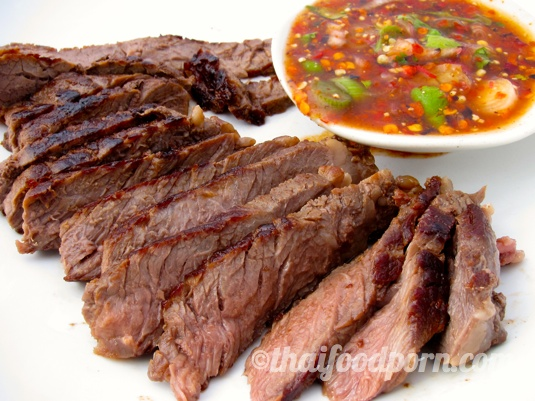 Grilled Beef – Crying Tiger